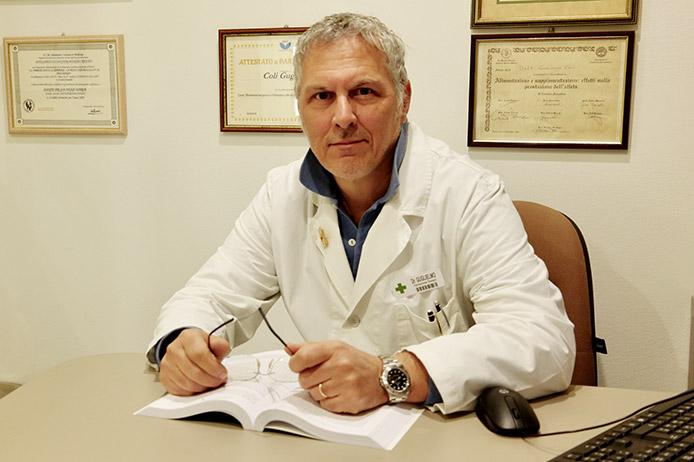 Dott. Guglielmo Coli della Farmacia Santa Gemma