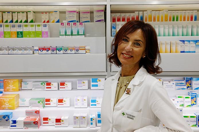 Dott.ssa Anna Maria Dante della Farmacia Santa Gemma