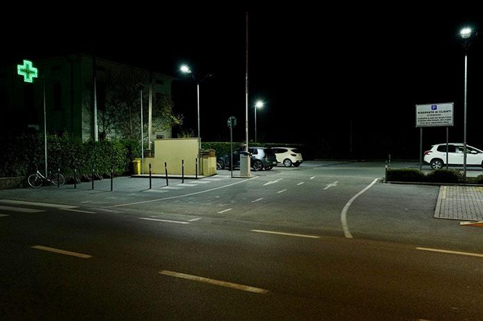 Parcheggio riservato ai Clienti della Framacia Santa Gemma